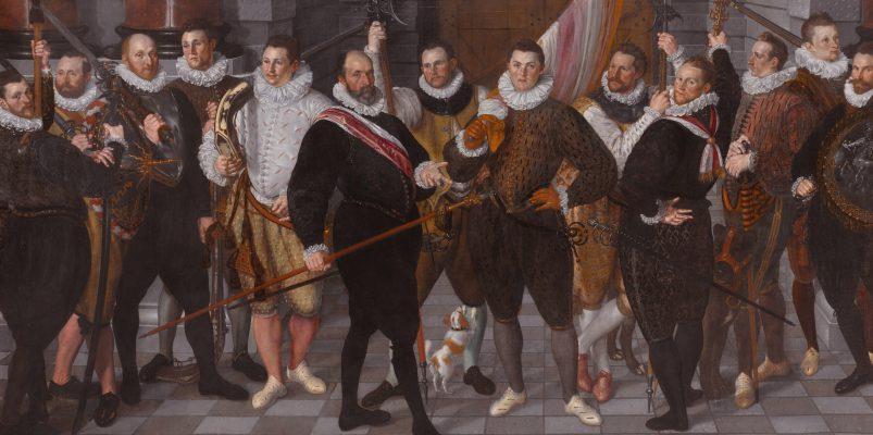 Het korporaalschap van kapitein Dirck Jacobsz Rosecrans en luitenant Pauw, Amsterdam